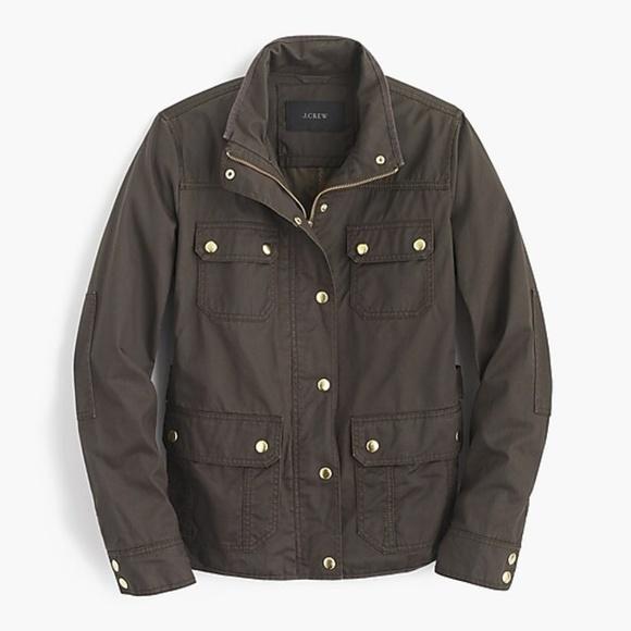 J. Crew Jackets & Blazers - J. Crew olive green field jacket